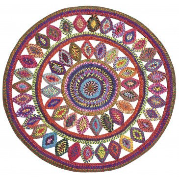 Tapis Bowey Multicolore 120