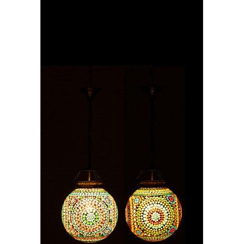 Lampe Suspendue Eki Mosaique Verre Mix Small Assortiment 2