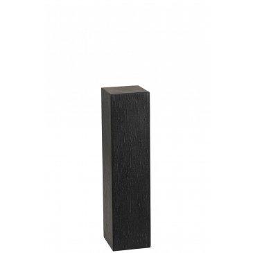 Colonne Rectangulaire Argile Noir Small