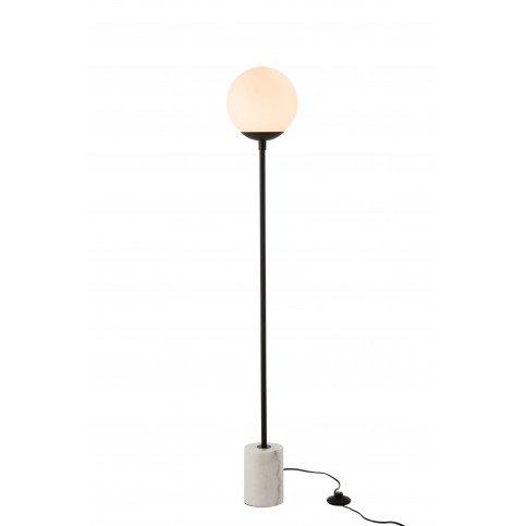 Lampe Boule Marbre/Métal/Verre Blanc/Noir