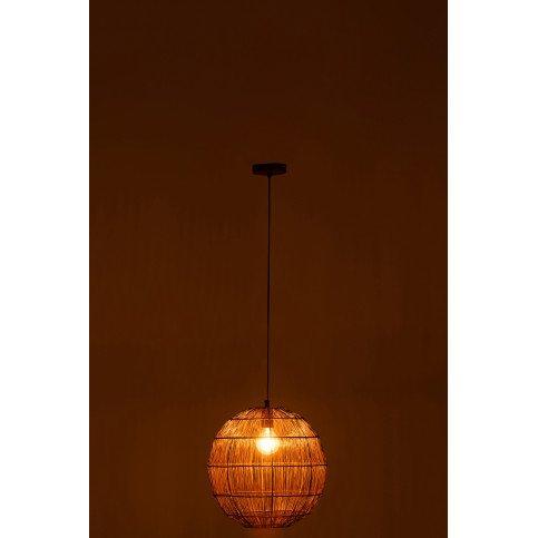 Lampe Suspendue Boule Fils Métal Rouille Small