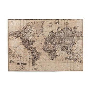 PlaniSphère Métal Antique Gris