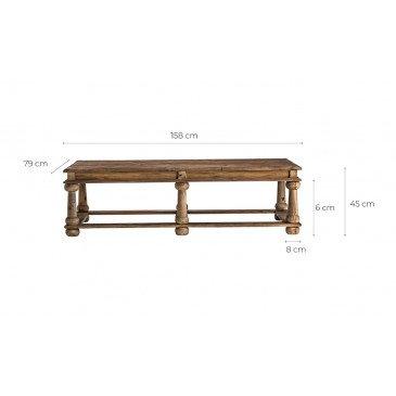 Table basse orientale Qavvor   www.cosy-home-design.fr