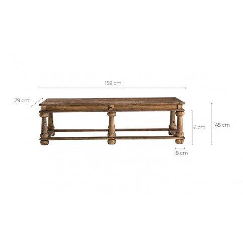 Table basse orientale Qavvor | www.cosy-home-design.fr