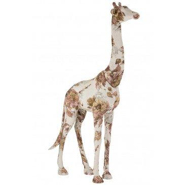 Giraphe Polyester Rose et Bleue Clair