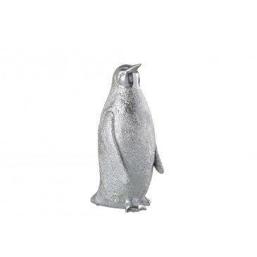 Pingouin Résine Argent Large