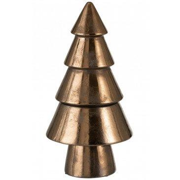 Arbre Décoratif Noël  Ceramique Bronze