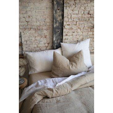 Taie Oreiller Stonewashed Zeff Blanc 50 x 75