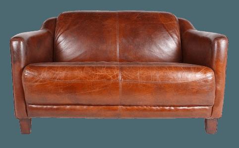 Canapé en Cuir Vintage